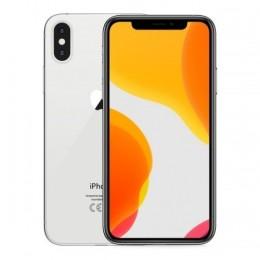 Iphone xs 64gb ricond. silver grado a - garanzia 1y/ 3 mesi batt