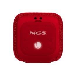 Ngs speaker roller coaster red waterresistant 10w bt/tws/usb/tf 84354306167