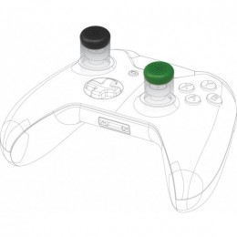Snakebyte control caps per xbox one (2x black 2x green)