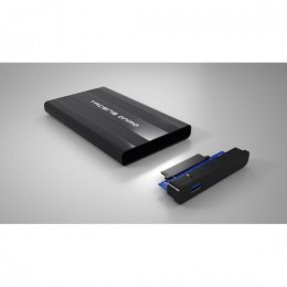 Tacens anima ahd1 box per hdd 2.5, alluminio, black
