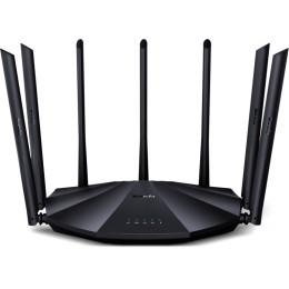 Tenda router wireless ac23 - 802.11 a/b/g/n/ac, 2.4ghz: 300mbps, 5ghz: 1733mbps, 1xge wan, 3xge lan, 7 ant 6dbi