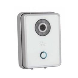 Videocitofono unit&192, esterna 1,3mpx 3,6mm vetro temp. ip bianco
