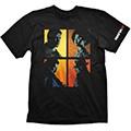 T-shirt mafia iii potraits nera (xl)