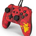 Pro controller con filo - tema pokemon : pikachu