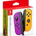 Nintendo switch joy-con controller set neon viola e arancio