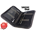 Leather case for tools and brushes custodia