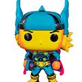 Funko pop ! marvel black light thor (target excl)