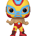 Funko pop ! marvel lucha libre : iron man (709)