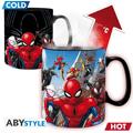 Tazza marvel heat change : spider-man multiverse (ax2)