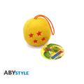 Peluche dragon ball : sfera del drago 6cm (ax2)