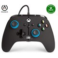 Controller wired powera blue hint (xbox one / series x / pc)