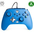 Controller wired powera blue (xbox one / series x / pc)