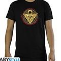 T-shirt yu-gi-oh! millennium puzzle uomo nera l