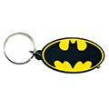 Portachiavi gomma dc comics : batman logo