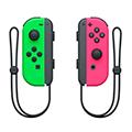 Nintendo switch joy-con controller set neon rosa e verde