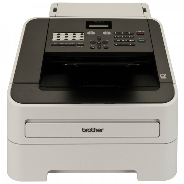 Fax brother 2840 laser 33,6 kbps super g3/16mb/adf/20ppm