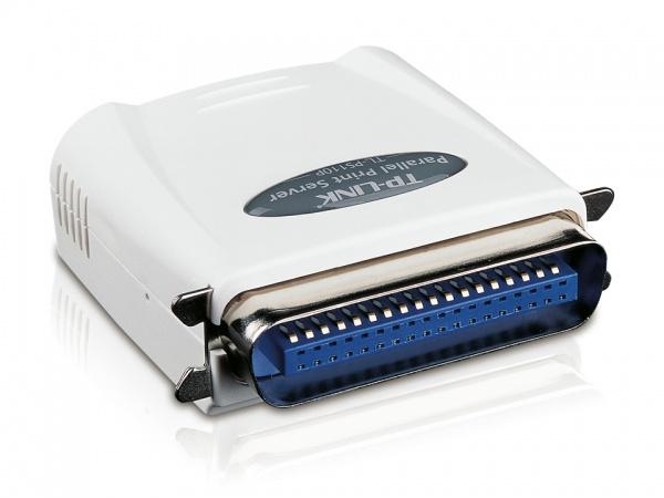 Print server tp-link 1p parallel+fa st ethernet
