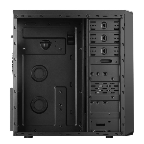 Case ocean - middle tower atx 500w brushed effect