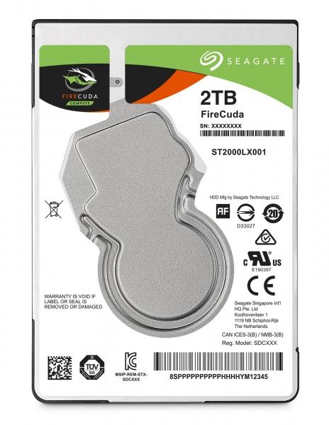 Sshd seagate firecuda 2.5  2tb