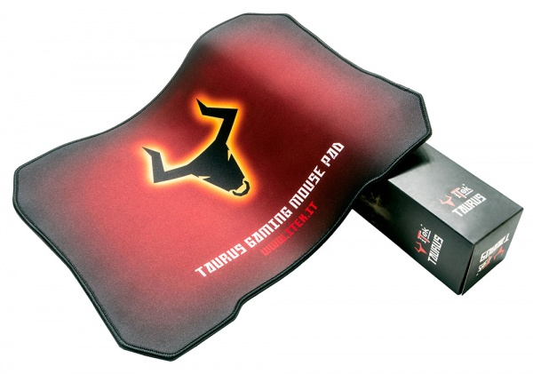 Itek taurus v1 l gaming mouse pad - materiale antiscivolo  400x320