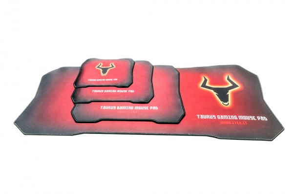 Itek taurus v1 xxl gaming mouse pad - materiale antiscivolo  900x360