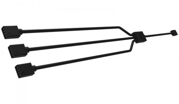 Cm trident cavo splitter da 1 a 3, lunghezza 580 mm, per collegamento con 3 ventole rgb