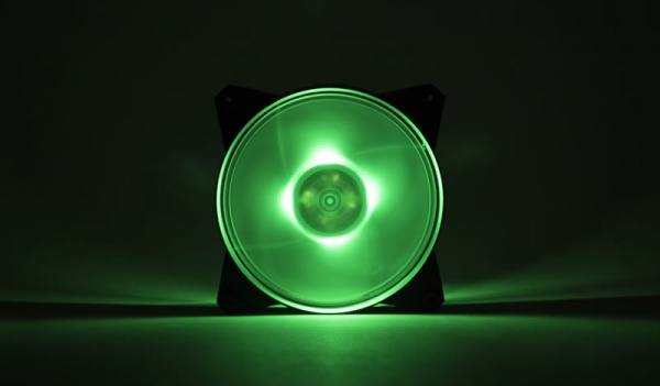 Masterfan pro 120 air pressure rgb pack, ventola 120mm led, 650  1500 rpm, 3in1 con controller rgb