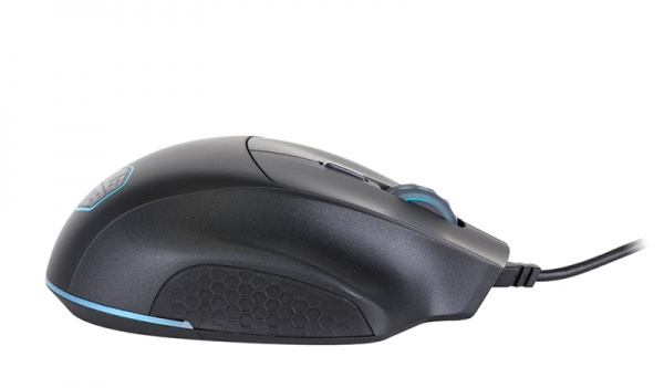Mastermouse mm520, ir optical gaming mouse12000 dpi, rgb led, claw grip, pbt plastic application