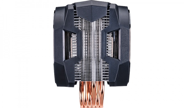 Ventola masterair ma610p, tower, 2x 120mm fans,pwm,6001800rpm,aluminum,top cover,small rgb led controller