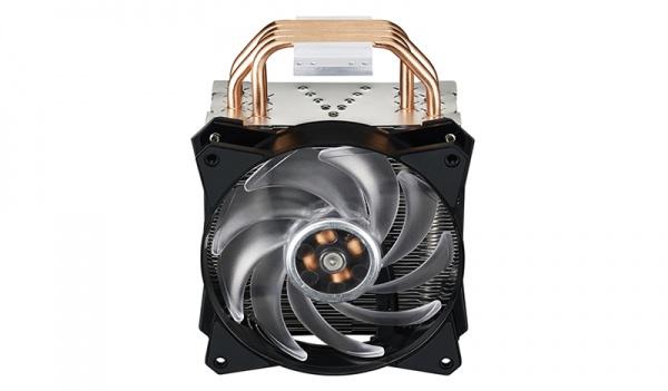 Ventola masterair ma410p, tower,120*25mm pwm rgb fan,650-2000rpm, 4x hp, small rgb led controller