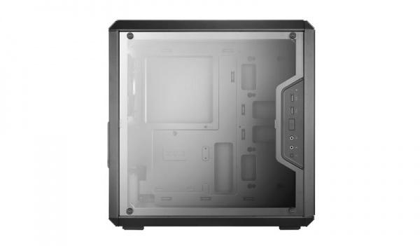 Case mid-tower no psu masterbox q300l 2usb3 black window panel