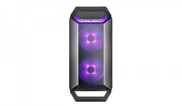Case masterbox q300p, 2usb3,audio i&o,1x 2.5/2x 3.5,2x 120mm rgb front fans 120mm rear fan,radiator supp.,no psu