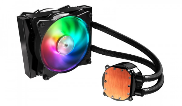 Ventola master liquid ml120r rgb lga 775>2066 amd am2>fm1 200w