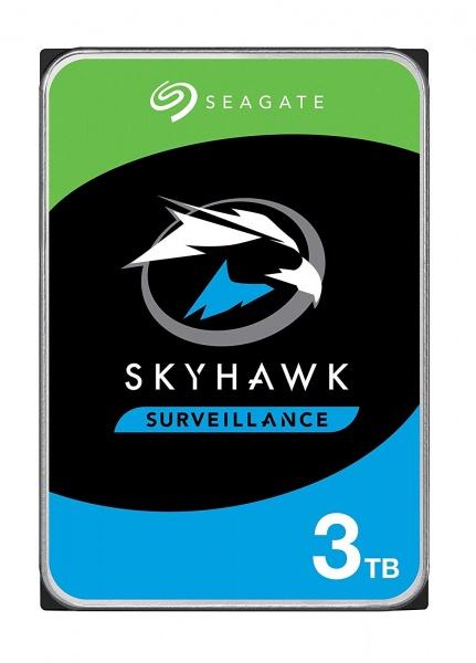 Hard disk seagate skyhawk 3.5 sata3 3tb  256mb videosorveglianza