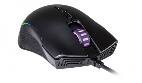 Mastermouse cm310 ambidextrous ir optical gaming mouse, rgb led, up to 10000dpi