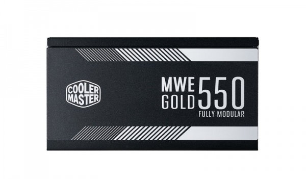 Alimentatore mwe gold 550w - modulare, 80plus gold, active pfc, 120mm fan