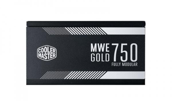 Alimentatore mwe gold 750w - modulare, 80plus gold, active pfc, 120mm