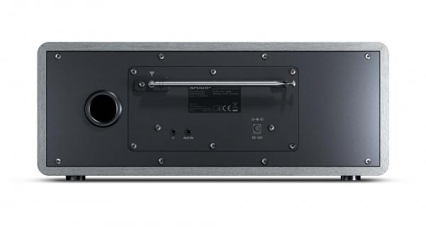 Internetradio sharp dr-i470 gray- dab dab+ fm radio bluetooth 30w