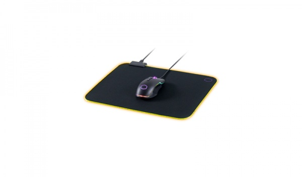 Cm masteraccessory mp750 gaming mousepad medium rgb