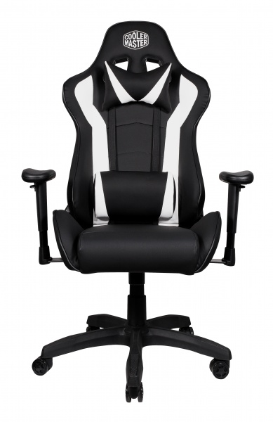 Cooler master gaming chair caliber r1 - ecopelle - white