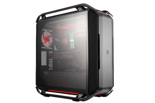 Case cosmos c700p black, 4usb3 usb 3.1,fan speed e rgb control buttons,front 2x140mm fan rear 140mm fan