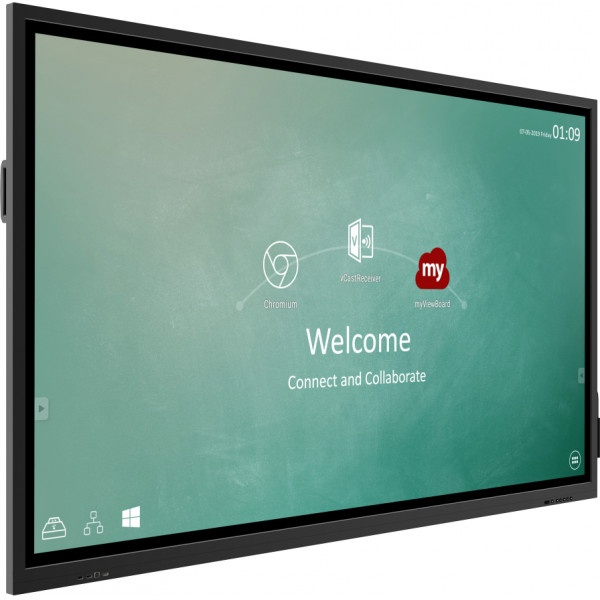 Mon 75 touch 20tocchi 450nit 16gb vga hdmi usb mm cast onboard androi