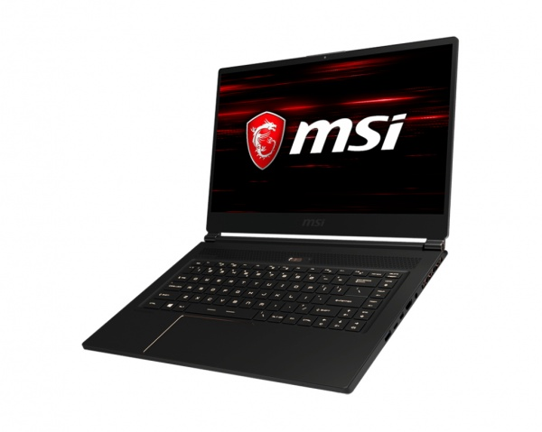 Notebook refurbished msi gs65 8re stealththin (gtx1060), 15.6fhd144hz7ms narbezel, c.i7-8750h+hm370,8gb*2,nvmessd256gb,w10,6gb gddr5