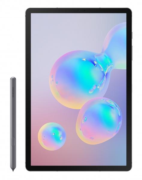 Tablet samsung galaxy tabs6 10.5lte oc/128gb/6gb/13mp/biom/and9 gray