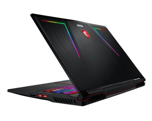 Notebook refurbished msi ge73 8re raider rgb (gtx1060),17.3fhd 120hz wv 94%ntsc a.g. 3ms,c.i7-8750h+hm370,8gb*2,128gb nvme ssd+1tb