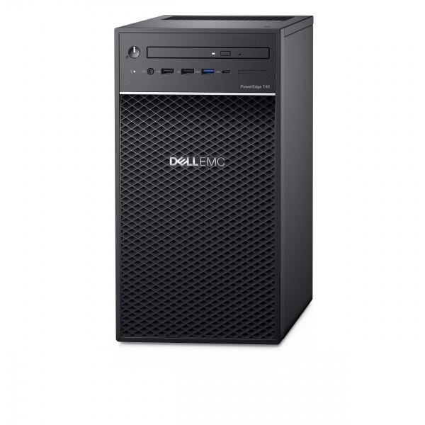 Server dell t40 e-2224 8gb 1tb 3,5 dvdrw 1yr basic nbd