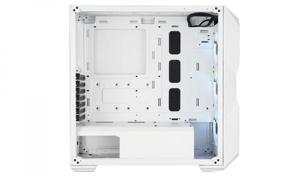 Case masterbox td500 mesh white, 2usb3,2xcombo 2.5/3.5,4x2.5,3x120mm argb front fans,controller,rad. supp.,no psu