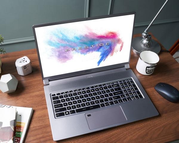 Notebook msi p75 creator 9sf (rtx2070 maxq), 17.3fhd ips 144hz 72%ntcs thin b., c. i7-9750h+hm370,8gb*2, 1tb nvmessd,w10pro,8gb gddr6