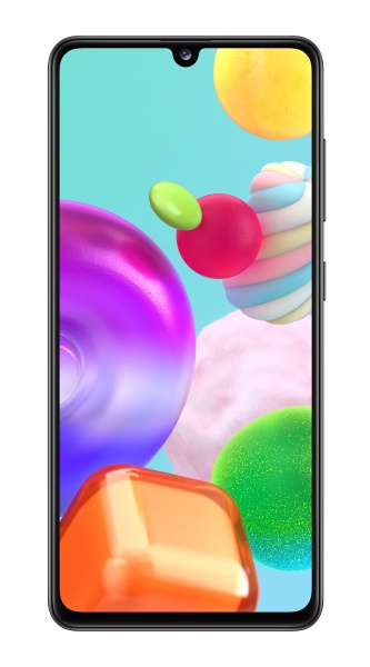 Smartphone samsung galaxy a41 6,1 black 64gb+4gb dual sim ita