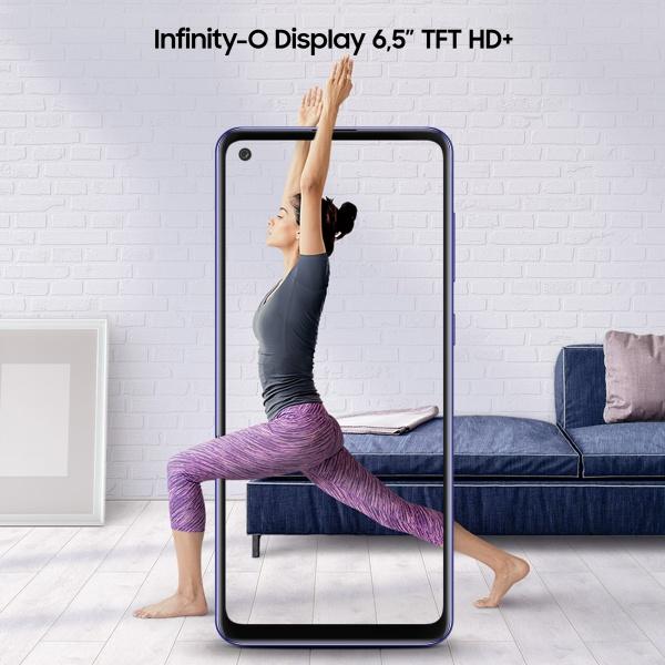 Smartphone samsung galaxy a21s 5,8 blue 32gb+3gb dual sim ita